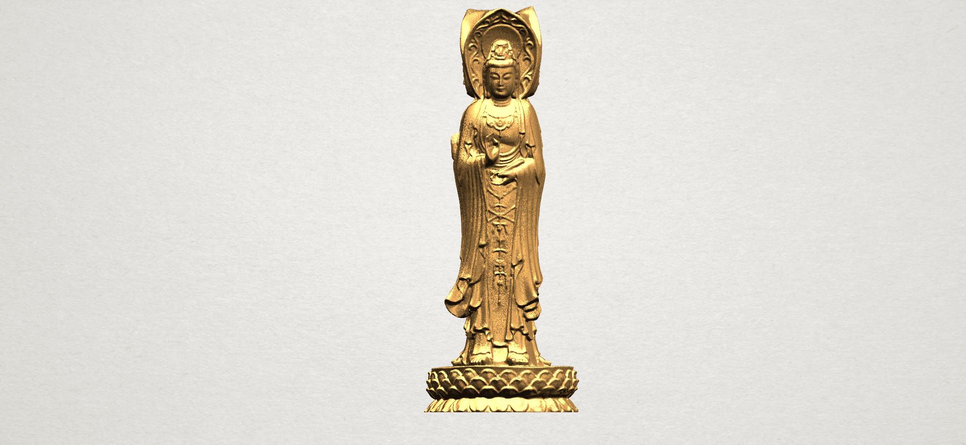 Avalokitesvara Buddha (with Lotus Leave) (i) A04.png Download free STL file Avalokitesvara Buddha (with Lotus Leave) 01 • 3D printable model, GeorgesNikkei