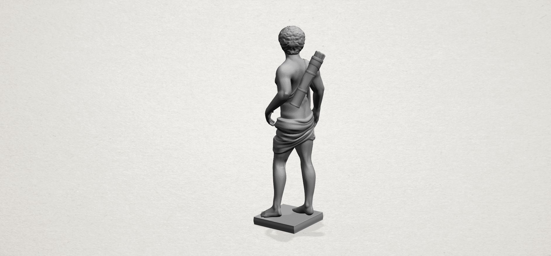 Michelangelo (ii) - C03.png Download free STL file Michelangelo 02 • Template to 3D print, GeorgesNikkei