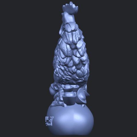08_TDA0321_CockB04.png Télécharger fichier STL gratuit Coq 01 • Design pour impression 3D, GeorgesNikkei