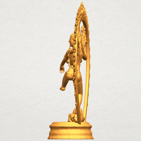 A04.png Download free STL file Shiva King • 3D printing template, GeorgesNikkei