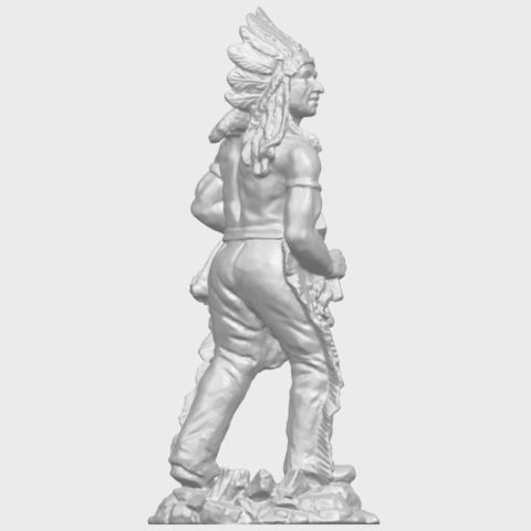 13_TDA0240_Red_IndianA08.png Download free STL file Red Indian • 3D print template, GeorgesNikkei