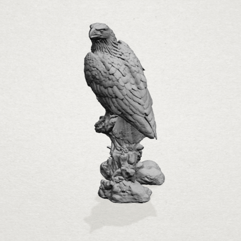 eagle - A04.png Download free STL file Eagle 01 • 3D printing design, GeorgesNikkei