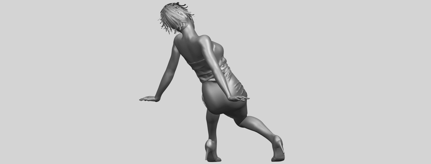 15_TDA0662_Naked_Girl_G10A07.png Download free STL file Naked Girl G10 • 3D printable template, GeorgesNikkei
