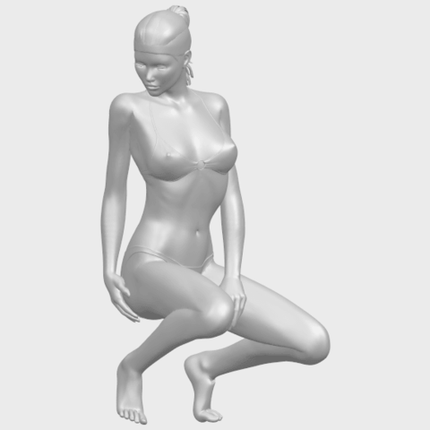15_TDA0634_Naked_Girl_D04A01.png Download free STL file Naked Girl D04 • 3D printable template, GeorgesNikkei