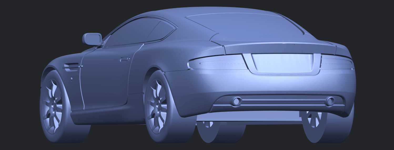 TDB006_1-50 ALLA03.png Download free STL file Aston Martin DB9 Coupe • 3D printer template, GeorgesNikkei