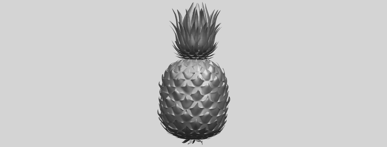15_TDA0552_PineappleA08.png Download free STL file Pineapple • 3D printer design, GeorgesNikkei