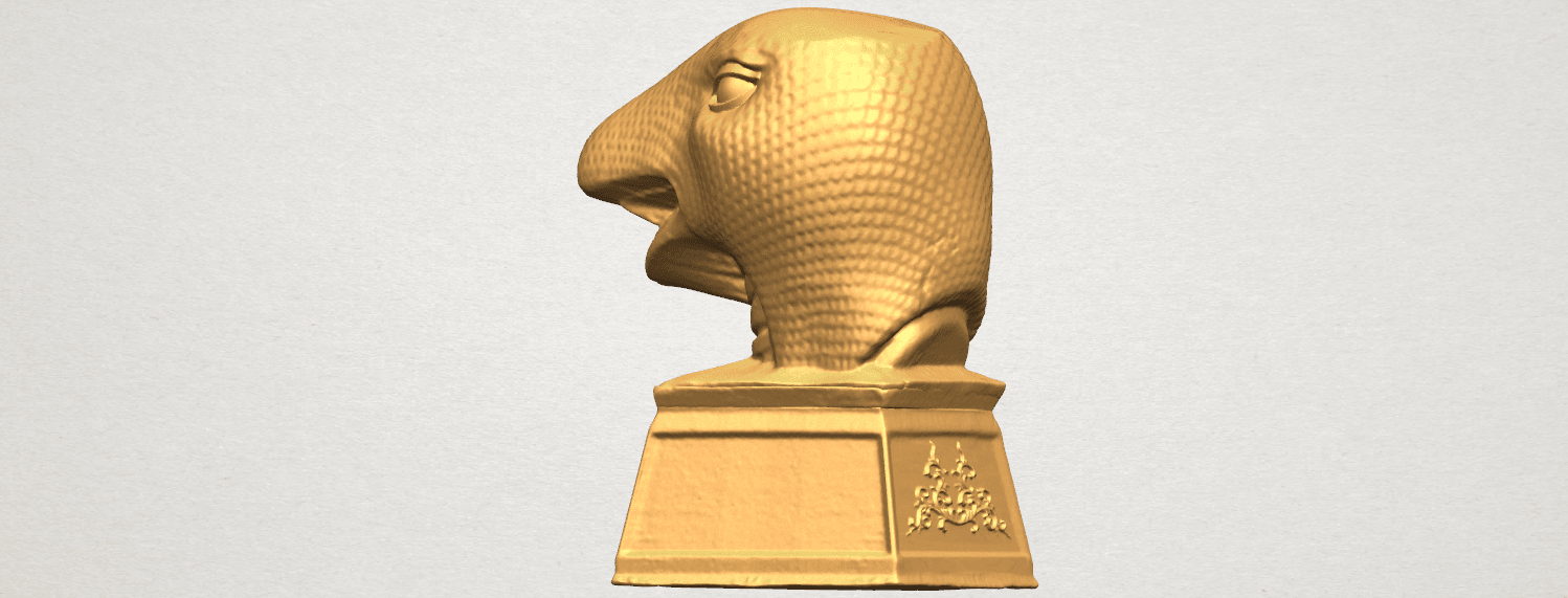 TDA0513 Chinese Horoscope of Snake A04.png Download free STL file Chinese Horoscope of Snake 02 • 3D printer design, GeorgesNikkei