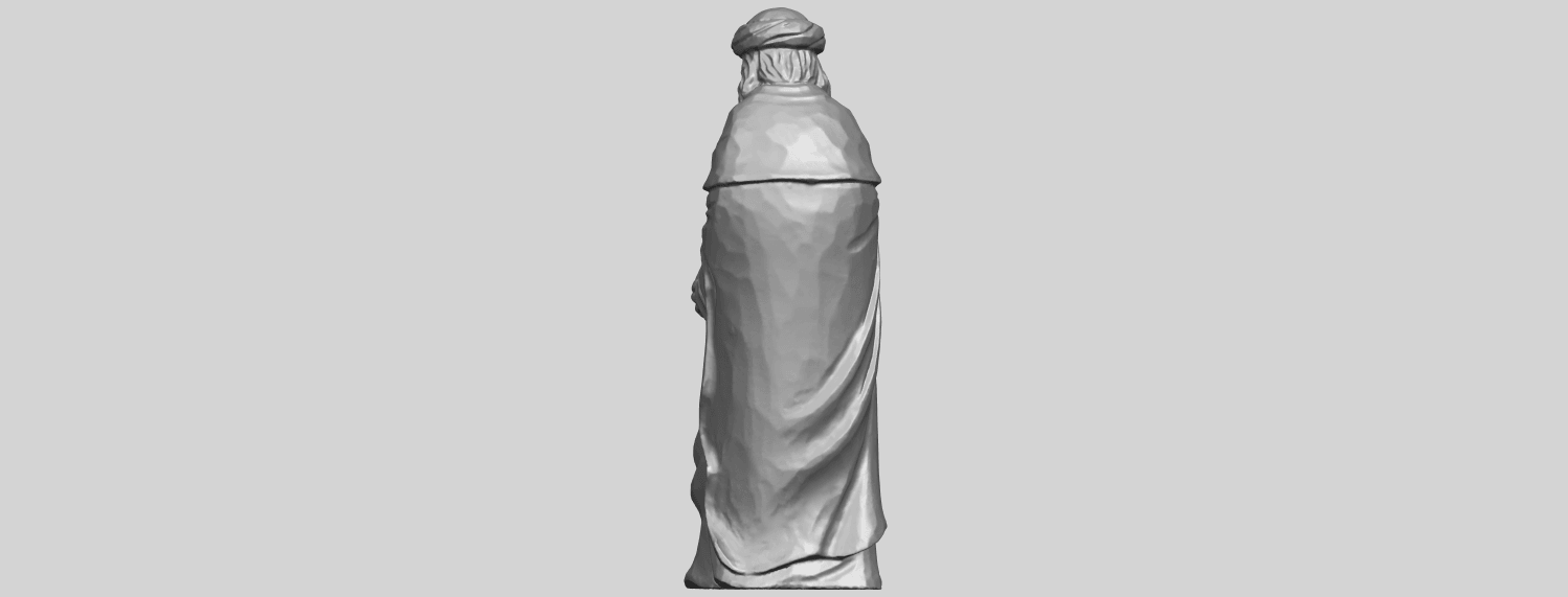 26_Sculpture_of_Arabian_88mm-A05.png Download free STL file Sculpture of Arabian • 3D print template, GeorgesNikkei