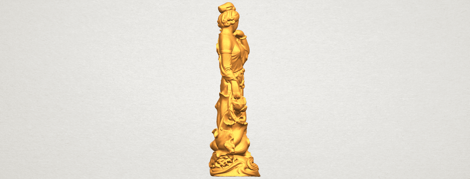 TDA0449 Fairy 04 A05.png Download free STL file Fairy 04 • Object to 3D print, GeorgesNikkei