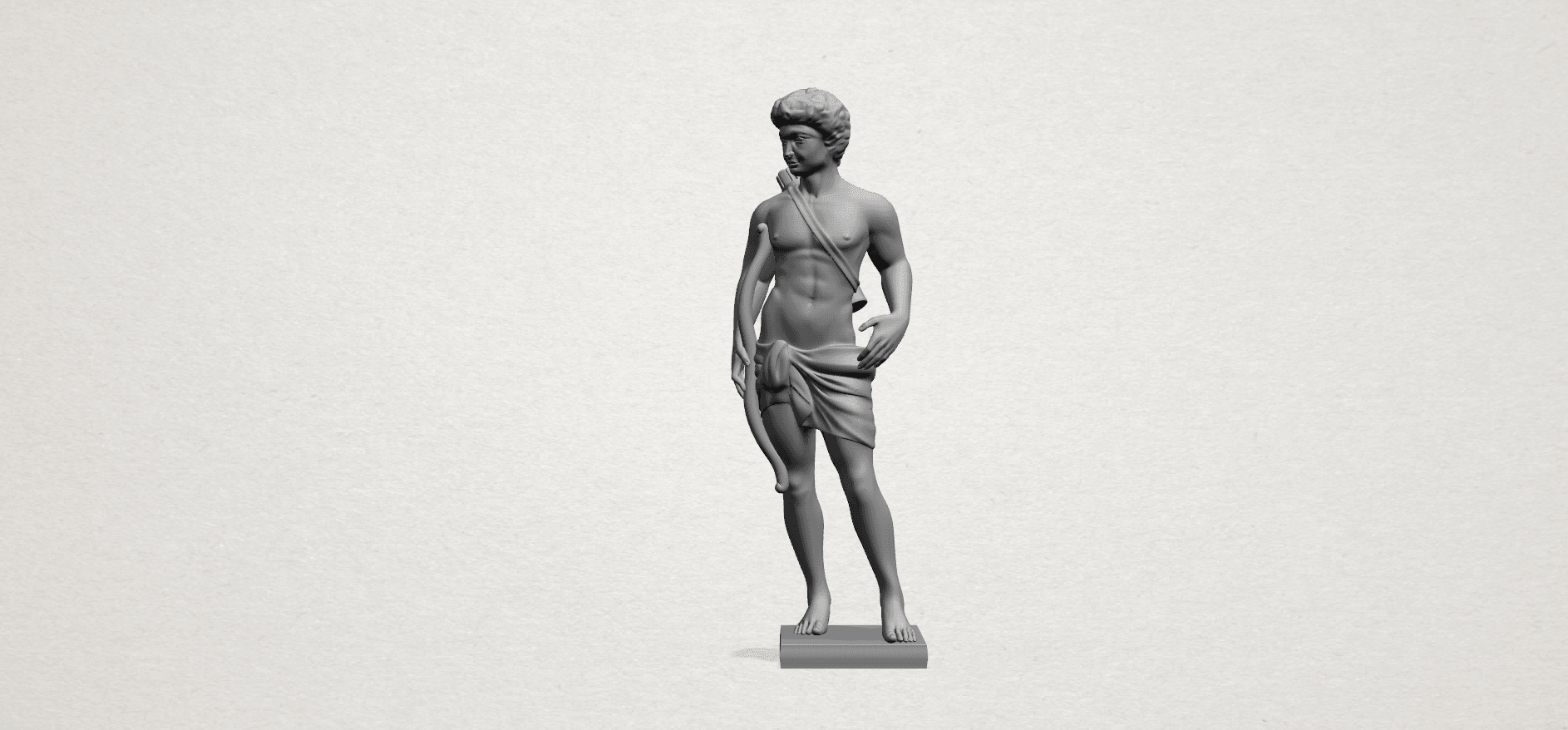 Michelangelo (ii) - C01.png Download free STL file Michelangelo 02 • Template to 3D print, GeorgesNikkei