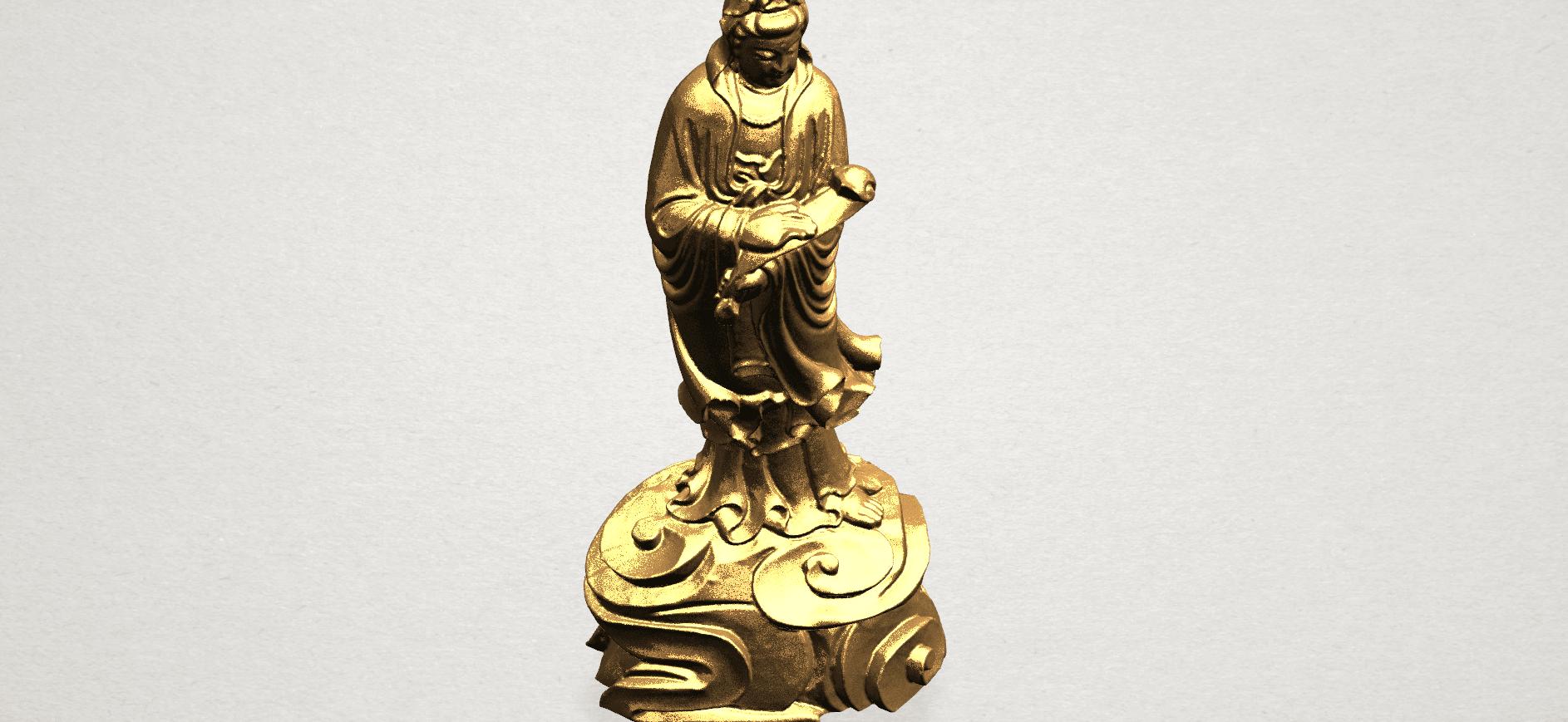 Avalokitesvara Buddha - Standing (iv) A09.png Download free STL file Avalokitesvara Buddha - Standing 04 • 3D print template, GeorgesNikkei