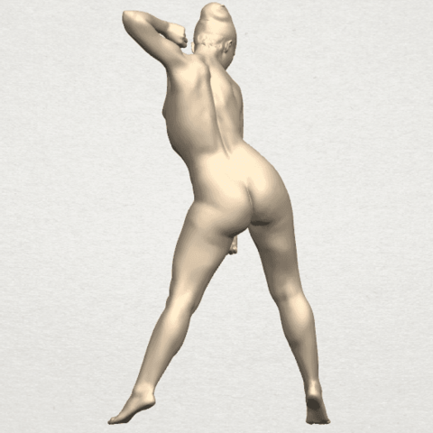 TDA0281 Naked Girl A08 04.png Download free STL file Naked Girl A08 • Template to 3D print, GeorgesNikkei
