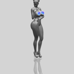 Free 3D model Naked Girl 34, GeorgesNikkei