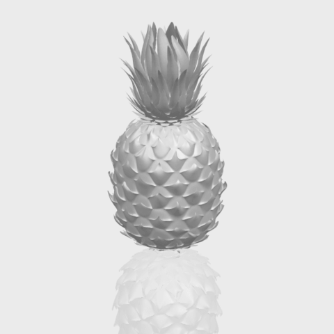 15_TDA0552_PineappleA00-1.png Download free STL file Pineapple • 3D printer design, GeorgesNikkei