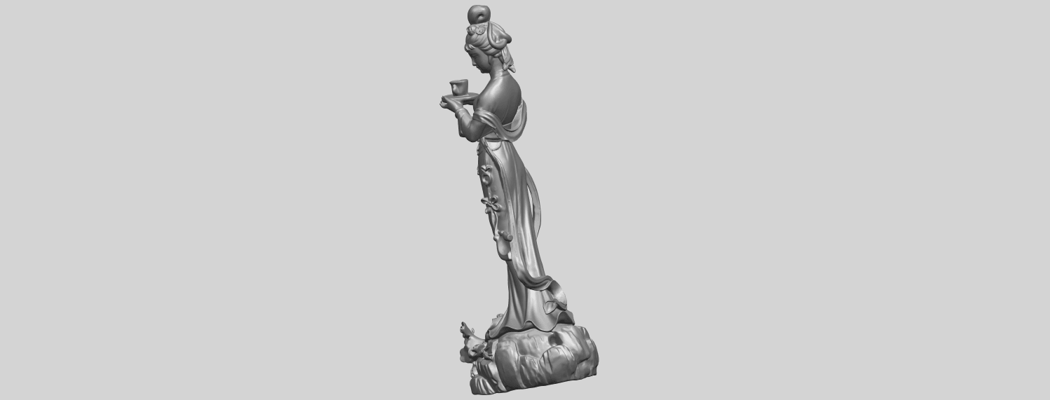09_TDA0253_Fairy01A03.png Download free STL file Fairy 01 • 3D printer object, GeorgesNikkei