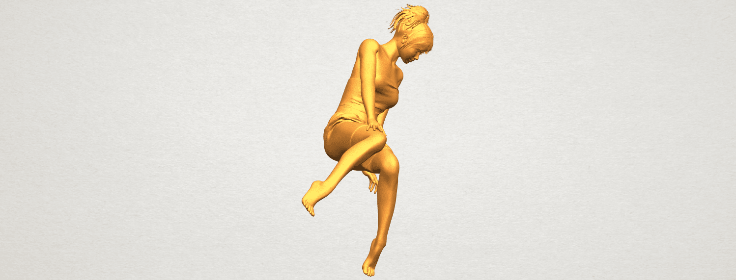 A09.png Download free STL file Naked Girl E07 • 3D printing object, GeorgesNikkei