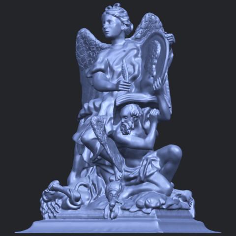 17_TDA0206_Angel_viB02.png Télécharger fichier STL gratuit Ange 06 • Modèle pour imprimante 3D, GeorgesNikkei