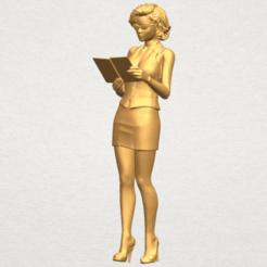 Fichier 3D Belle Fille 13, Miketon