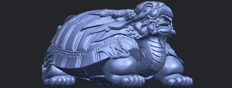 01_TDA0333_Dragon_TortoiseB08.png Télécharger fichier STL gratuit Tortue dragon • Objet imprimable en 3D, GeorgesNikkei