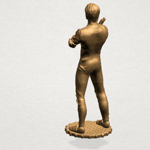 Bruce Lee B03.png Télécharger fichier STL gratuit Bruce Lee • Design à imprimer en 3D, GeorgesNikkei