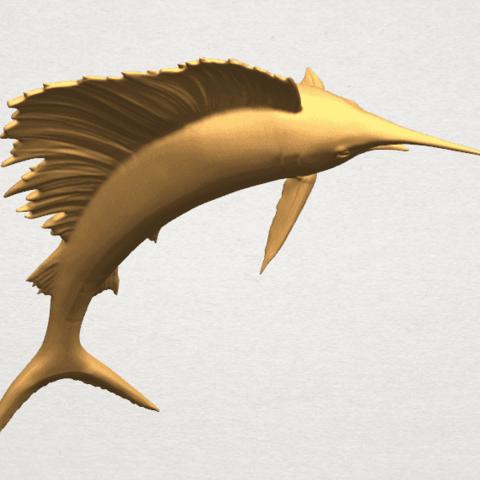 TDA0572 Swordfish 02 A10.png Télécharger fichier STL gratuit Espadon 02 • Objet pour impression 3D, GeorgesNikkei