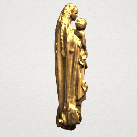 Mother and Child (vi) - A06.png Download free STL file Mother and Child 06 • 3D printing template, GeorgesNikkei