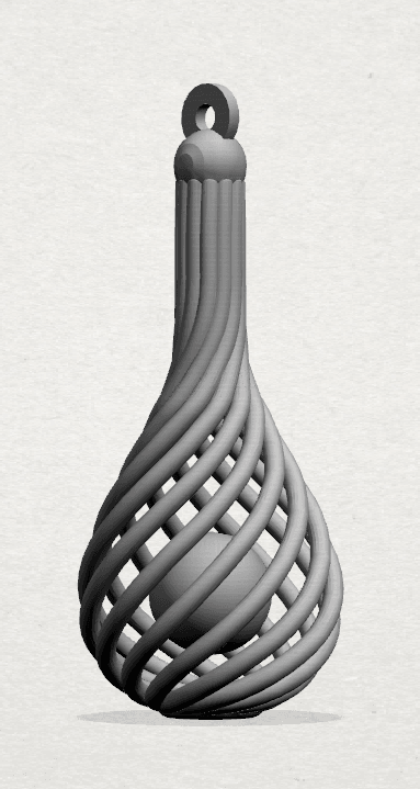 Necklace - Twisted Vase-A01 - 000.png Download free STL file Necklaces - Twisted Vase • 3D print design, GeorgesNikkei
