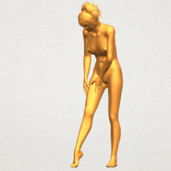 Objet 3D Fille nue C04, Miketon