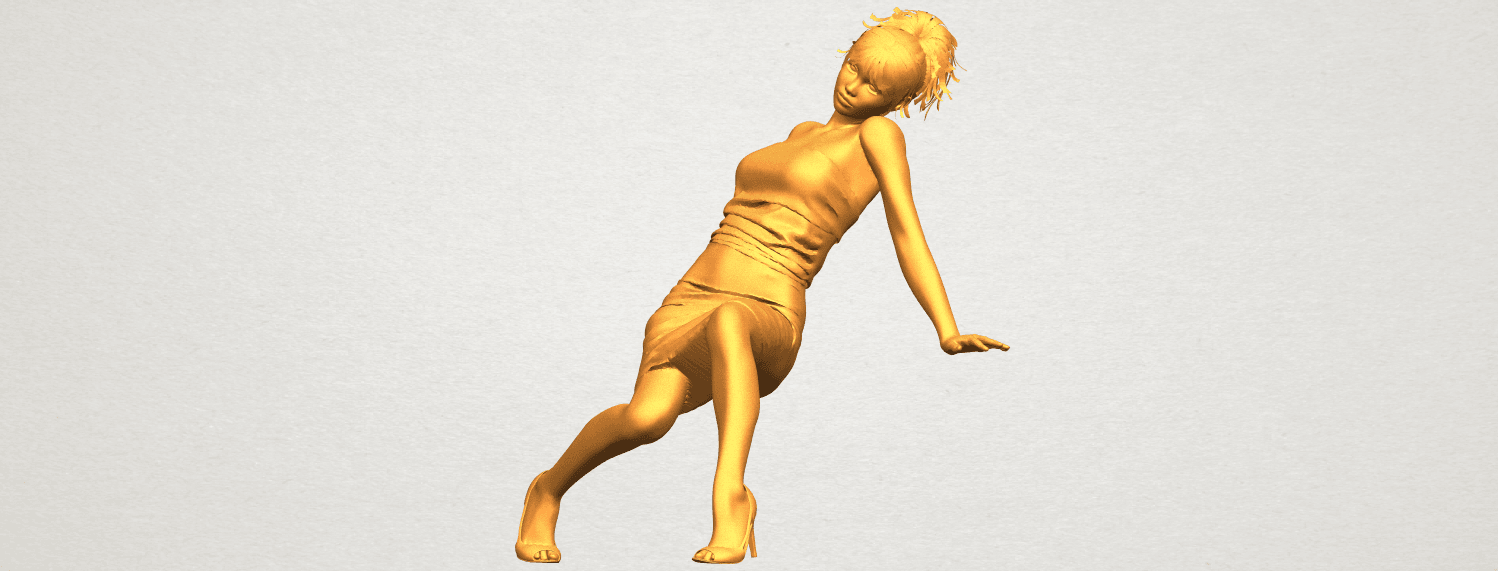 A02.png Download free STL file Naked Girl G10 • 3D printable template, GeorgesNikkei