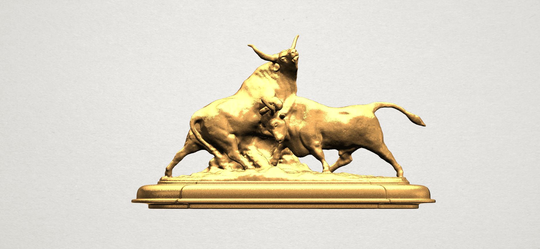 Bull (iii) A01.png Télécharger fichier STL gratuit Taureau 03 • Plan imprimable en 3D, GeorgesNikkei