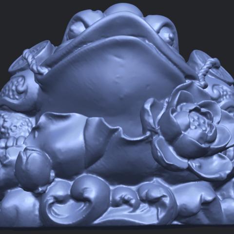 21_TDA0336_The_Golden_ToadB09.png Download free STL file The Golden Toad • 3D printer design, GeorgesNikkei