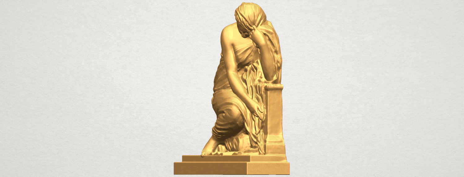 TDA0548 Sculpture of a girl 02 A02.png Download free STL file Sculpture of a girl 02 • 3D printable template, GeorgesNikkei