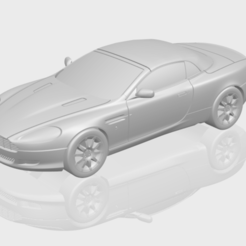 Download free 3D printer model Aston Martin DB9 Cabriolet, GeorgesNikkei