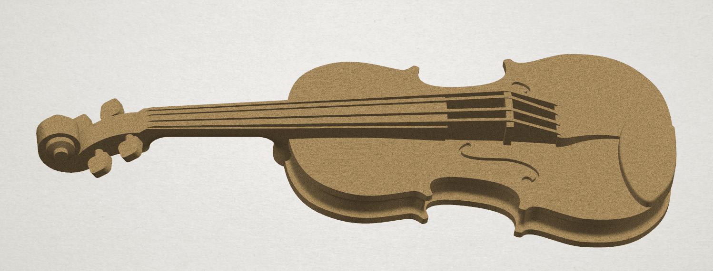 TDA0305 Violin A01.png Download free STL file Violin • 3D print design, GeorgesNikkei