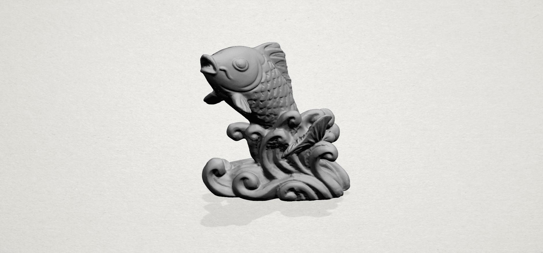 Fish -A02.png Télécharger fichier STL gratuit Poisson 01 • Objet pour impression 3D, GeorgesNikkei
