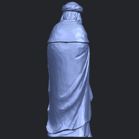 26_Sculpture_of_Arabian_88mm-B06.png Download free STL file Sculpture of Arabian • 3D print template, GeorgesNikkei