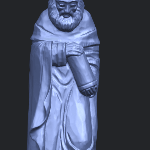 26_Sculpture_of_Arabian_88mm-A10.png Download free STL file Sculpture of Arabian • 3D print template, GeorgesNikkei