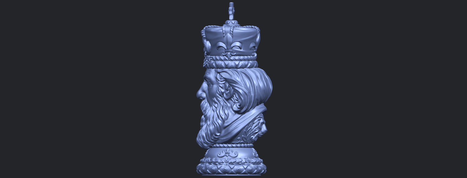 06_TDA0254_Chess-The_KingB04.png Download free STL file Chess-The King • 3D printer model, GeorgesNikkei