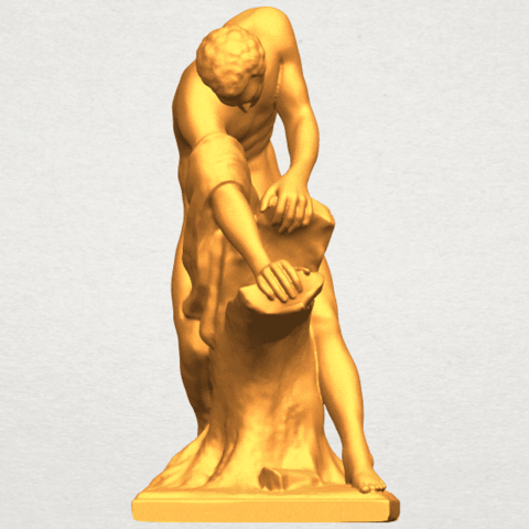 A09.png Download free STL file Milo of Croton • 3D printing design, GeorgesNikkei