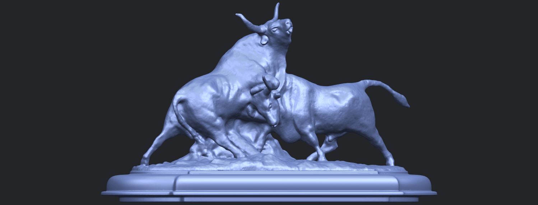 15_Bull_iii_74mm-B06.png Télécharger fichier STL gratuit Taureau 03 • Plan imprimable en 3D, GeorgesNikkei