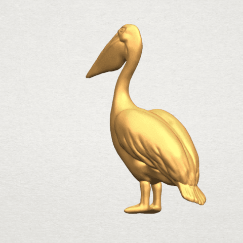TDA0596 Pelican A02.png Download free STL file Pelican • 3D print model, GeorgesNikkei