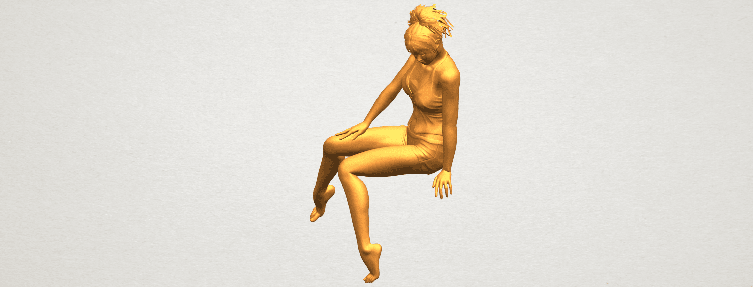 A02.png Download free STL file Naked Girl E04 • Template to 3D print, GeorgesNikkei