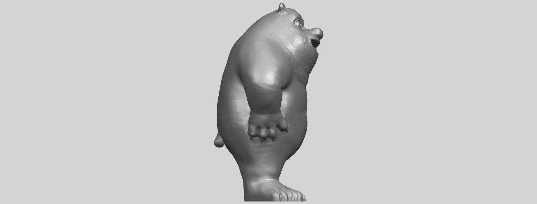 14_TDA0561_Bear_SeniorA09.png Télécharger fichier STL gratuit Bear Senior • Plan imprimable en 3D, GeorgesNikkei