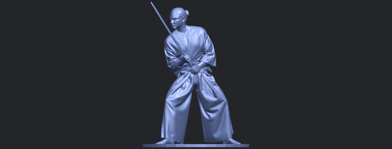 05_TDA0544_Japanese_WarriorB01.png Download free STL file Japanese Warrior • 3D printer model, GeorgesNikkei