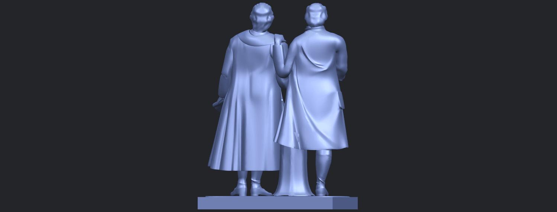 15_Goethe_schiller_80mmB07.png Télécharger fichier STL gratuit Goethe Schiller • Modèle imprimable en 3D, GeorgesNikkei