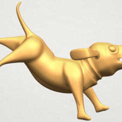 3D file Dog Cartoon 05, Miketon