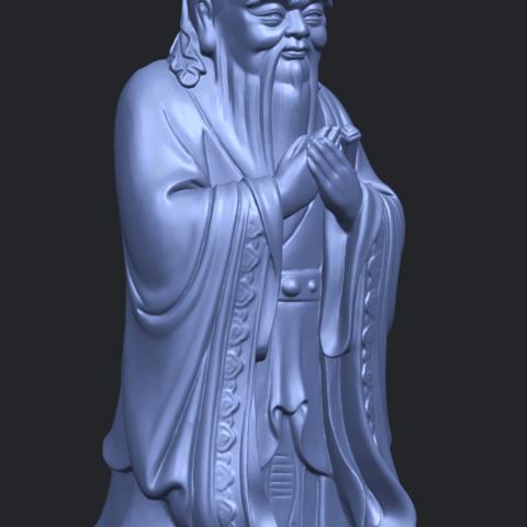 13_TDA0341_ConfuciusA10.png Download free STL file Confucius • 3D printable model, GeorgesNikkei