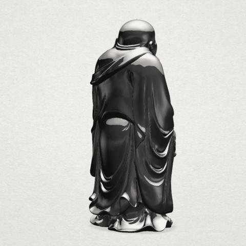 TDA0070 Metteyya Buddha 01 - 88mm - B05.png Download free STL file Metteyya Buddha 01 • 3D print object, GeorgesNikkei