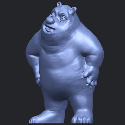 14_TDA0561_Bear_SeniorB02.png Télécharger fichier STL gratuit Bear Senior • Plan imprimable en 3D, GeorgesNikkei