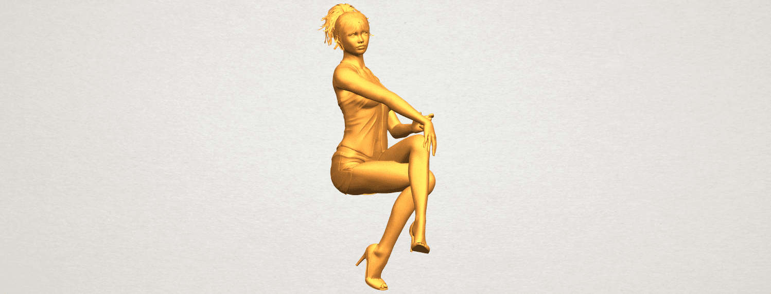 A03.png Download free STL file Naked Girl H05 • 3D printable object, GeorgesNikkei